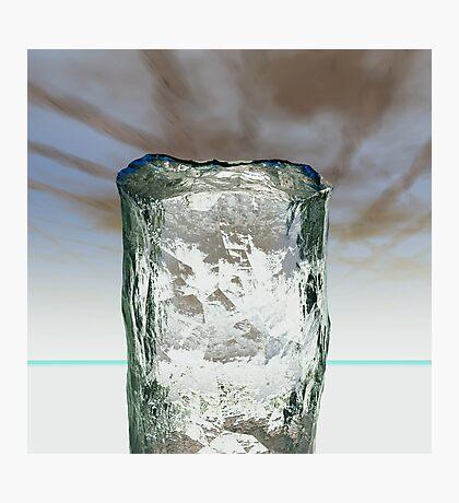 Column of Ice Photographic Print