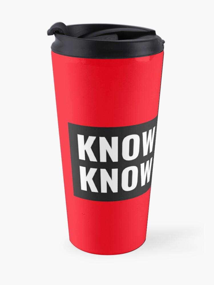 Alternate view of TheCoffeeCupLife: Know Music, Know Life. Travel Mug