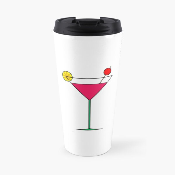 Martini Glass Travel Mug