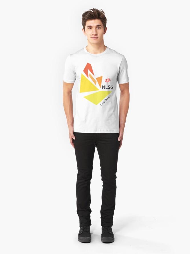 Alternate view of NLS6 logo Slim Fit T-Shirt