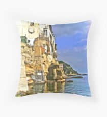 .. picturesque Marechiaro ~ Posillipo / Naples / Italy Throw Pillow