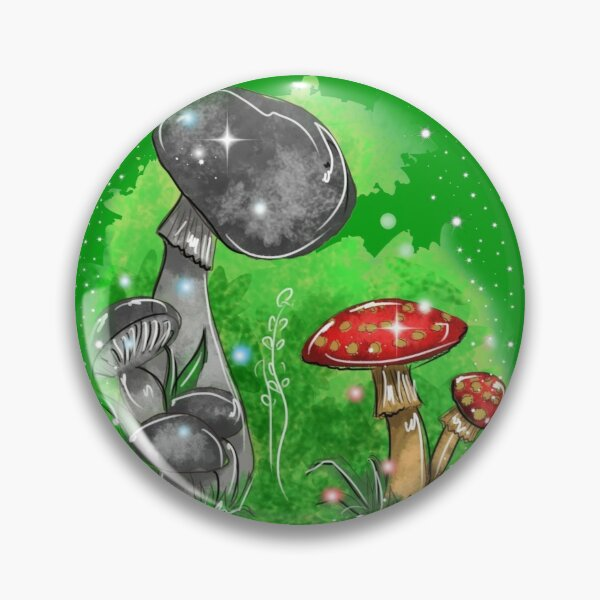 Tivona the Toadstool and His Mushroom Friend ™ Pin