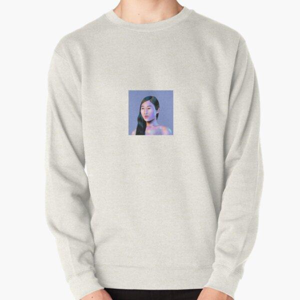 Digital Illustration Pullover Sweatshirt