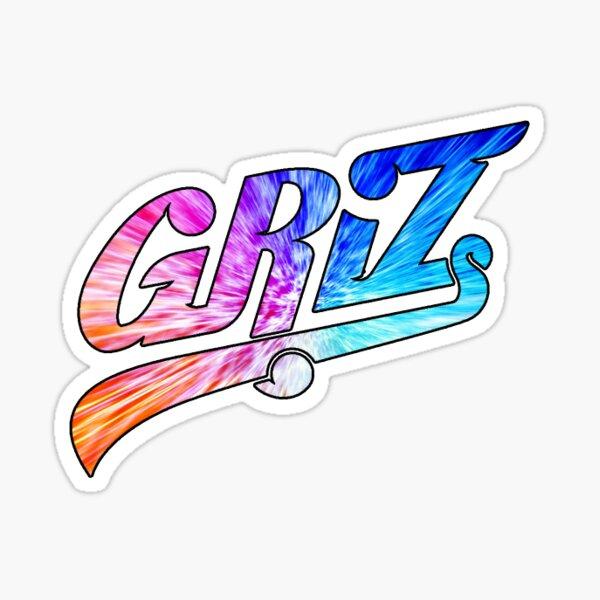 Griz Rainbow Vortex Sticker