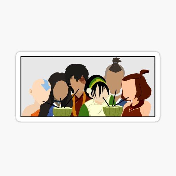 Team Avatar Friends Sticker