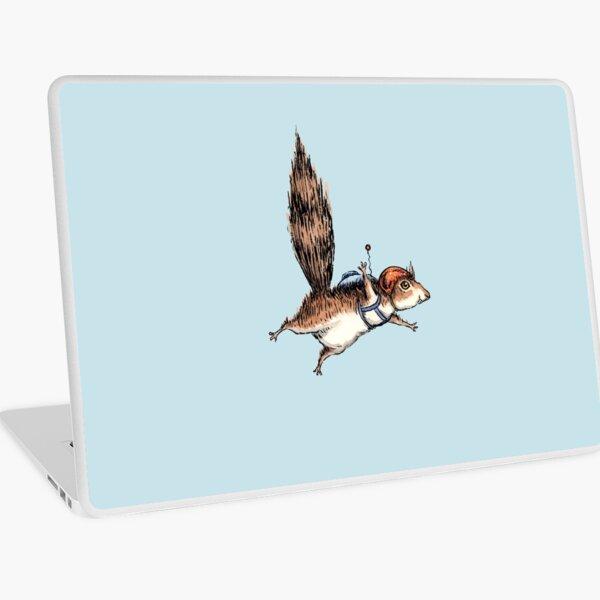 Skydiver Squirrel, Skydiving Adventure Design Laptop Skin