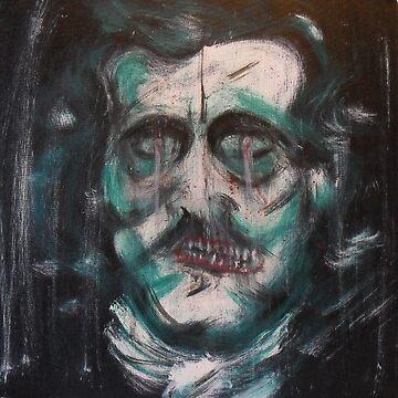 """Edgar Allan Poe """"Death"""" by edwoods1987"""
