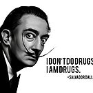 Salvador Dali by Pancho The Macho