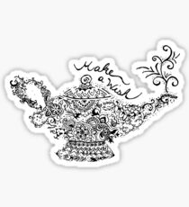 Magic Lantern Mandala Sticker