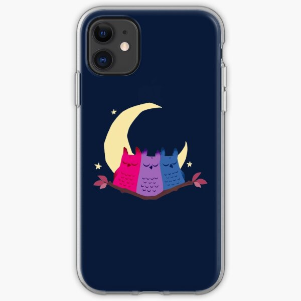 Bisexuowls iPhone Soft Case