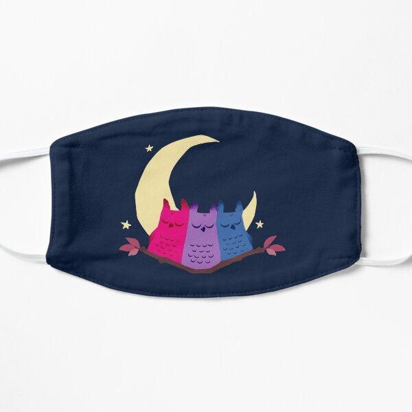 Bisexuowls Flat Mask