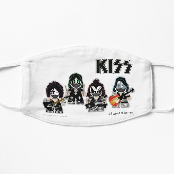 Kiss Band - Stay At Home - Cute design for kids Mask