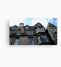 Looming Home Canvas Print