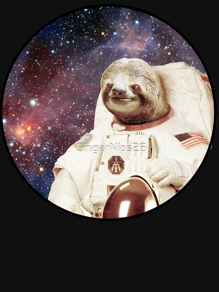 Astro Sloth by GingerNips26