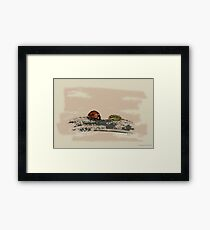 Arthropod Meeting Framed Print
