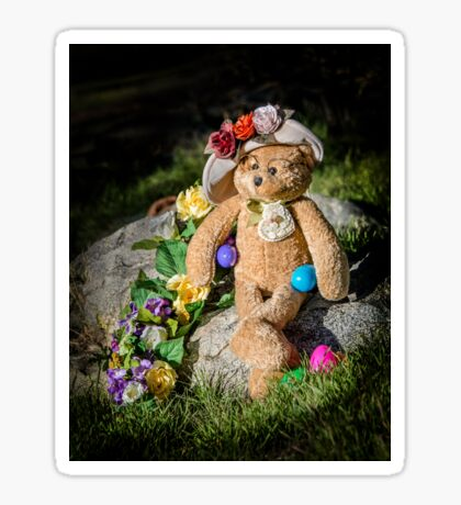 Bear Stories: Have a Beary Happy Easter Sticker