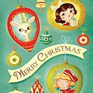 Vintage Merry Christmas by colonelle