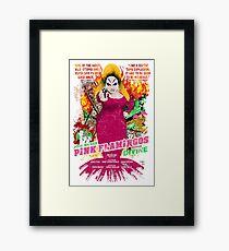 John Waters Pink Flamingos Divine Cult Movie  Framed Print