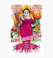 John Waters Pink Flamingos Divine Cult Movie  Photographic Print