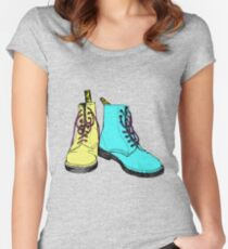 Doc Martins Women's Fitted Scoop T-Shirt