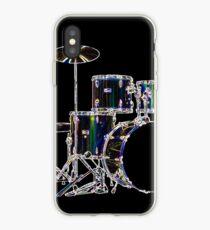 Drum Set 2 Neon iPhone Case