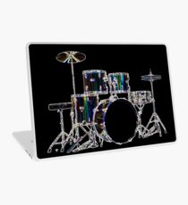 Drum Set 2 Neon Laptop Skin