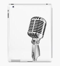retro microphone iPad Case/Skin