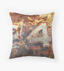 '24' Patina Wall Art Throw Pillow