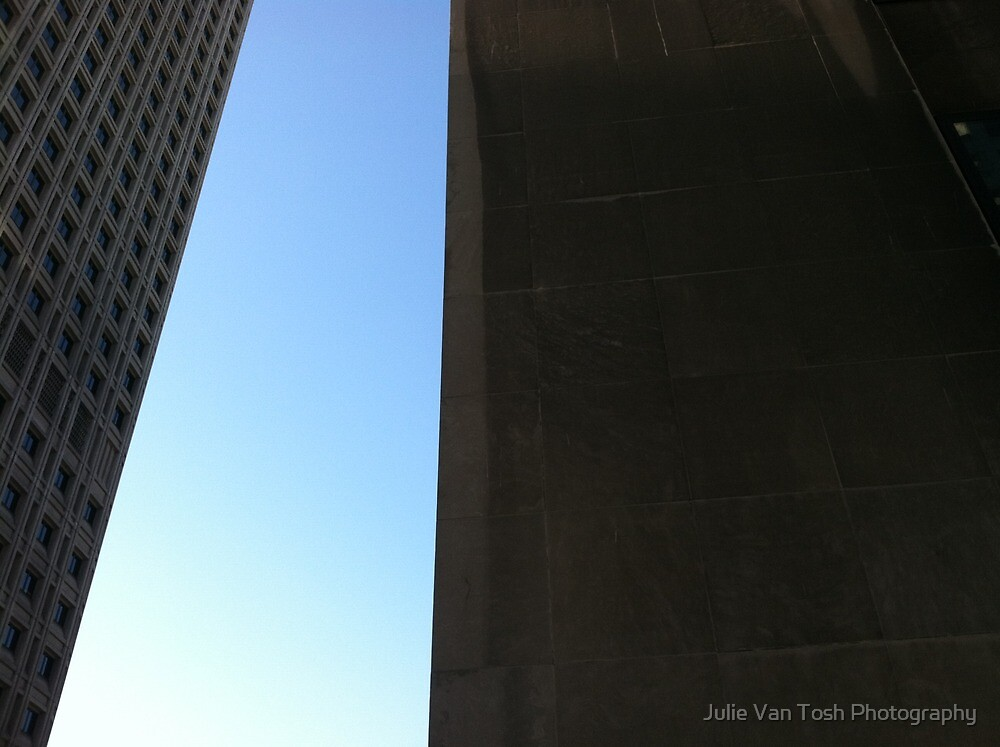 Seattle sculpture sky by Julie Van Tosh Photography