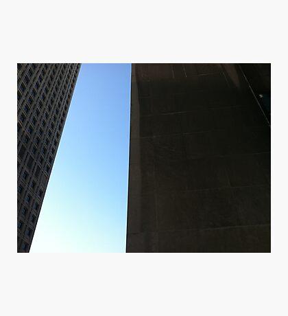 Seattle sculpture sky Photographic Print