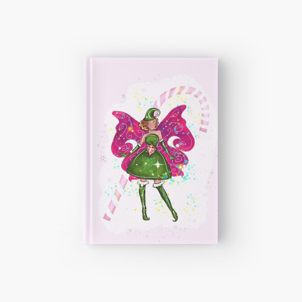 Candy The Christmas Fairy™ Hardcover Journal