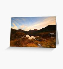 Cradle (crazy) Mountain Greeting Card