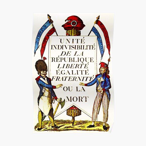 French Revolution Poster Poster