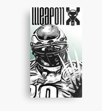 Weapon X Metal Print