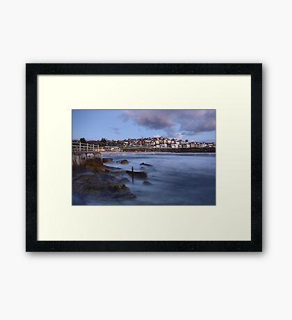 Early Morning Bronte Beach Framed Print