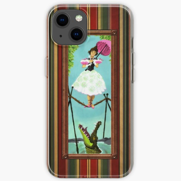 Tightrope Girl iPhone Soft Case