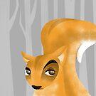 Squirrel by makoshark