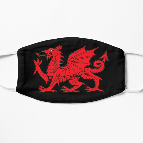 Y Ddraig Goch | The Red Dragon Flat Mask