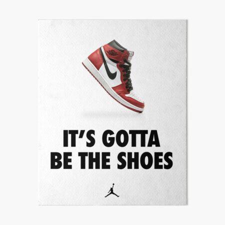 Ça doit être les chaussures Impression rigide