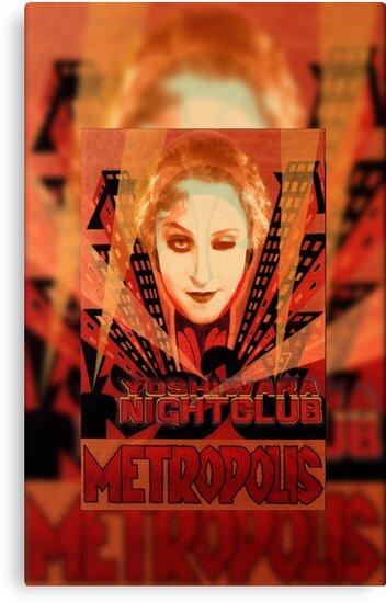 METROPOLIS - Yoshiwara Nightclub by dennis william gaylor
