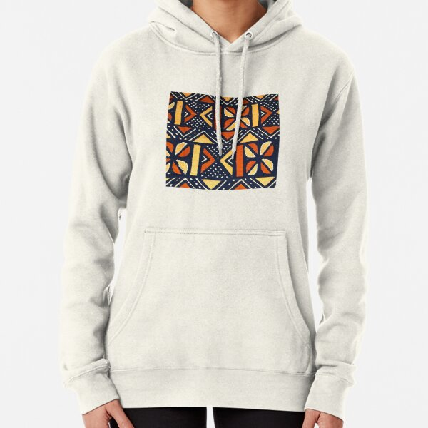 Mudcloth 4 Pullover Hoodie