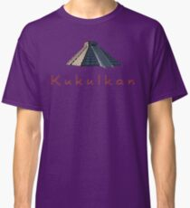 Pyramid of Kukulkan Classic T-Shirt