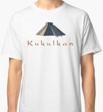 Pyramid of Kukulkan Classic T-Shirt