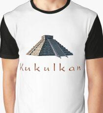 Pyramid of Kukulkan Graphic T-Shirt