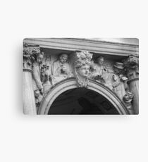 Sculpture architecture Canvas Print