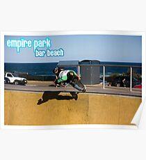 Frontside Bone Air - Empire Park Skate Park Poster