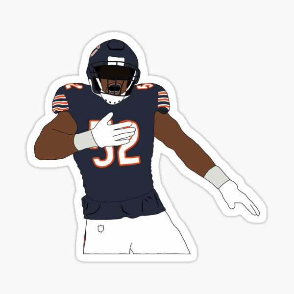 Chicago Bears Khalil Mack Sticker