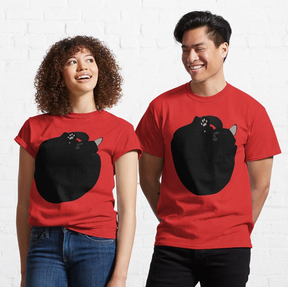 NDVH Black Cat Circle Classic T-Shirt