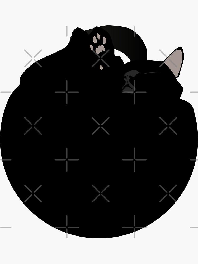 NDVH Black Cat Circle by nikhorne