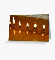 Tibetan Butter Lamp, Lhasa Greeting Card
